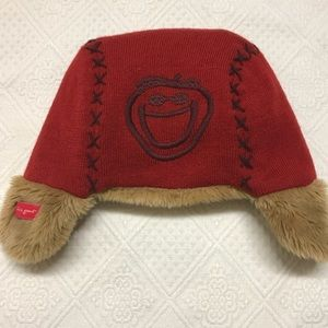 Life is Good Toddler Hat 2 4 Ear Flaps Wool Blend